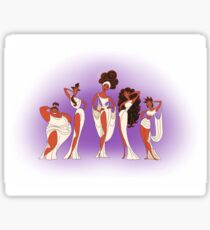 The Singing Muses Sticker