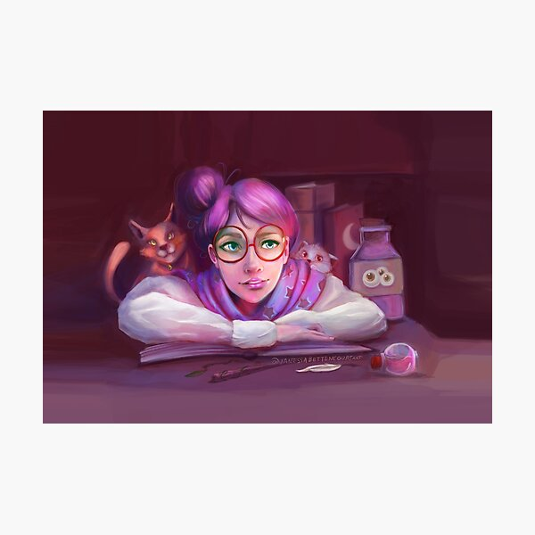 Witch Classroom Photographic Print
