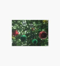 Christmas Baubles Art Board Print