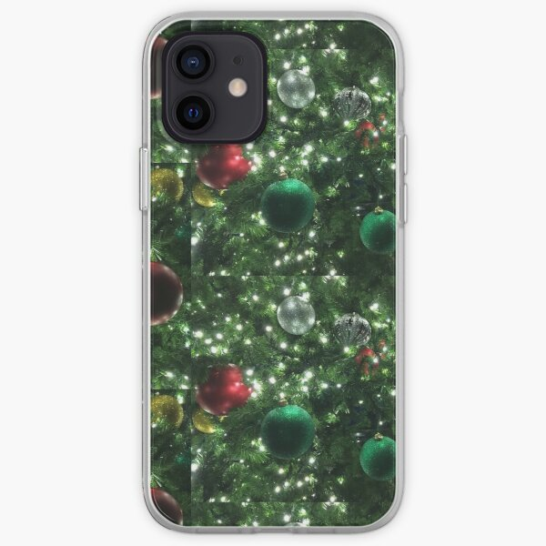Christmas Baubles iPhone Soft Case