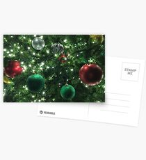 Christmas Baubles Postcards