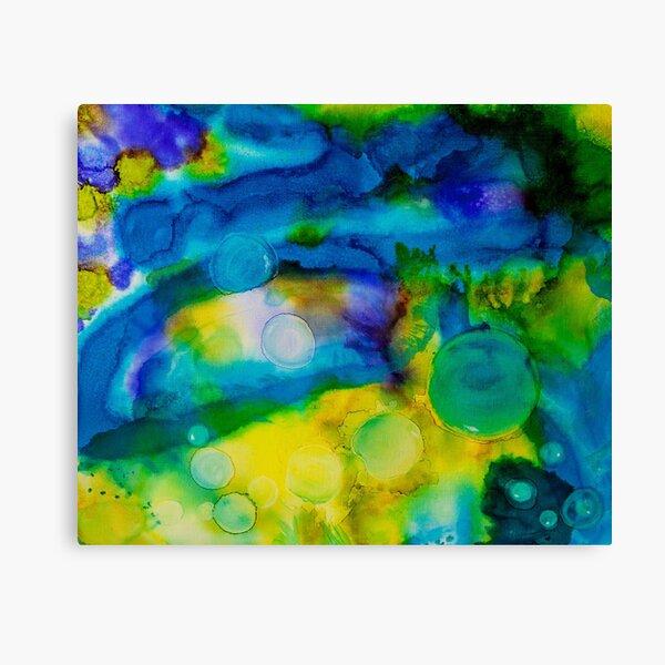 Saturn Galaxy - Abstract  Canvas Print