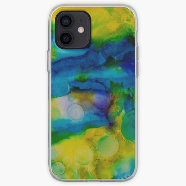 Saturn Galaxy - Abstract  iPhone Soft Case