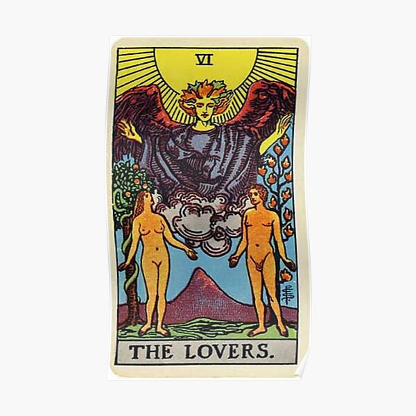 The Lovers Tarot Poster