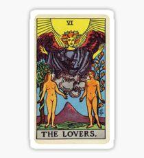 Der Liebhaber Tarot Sticker