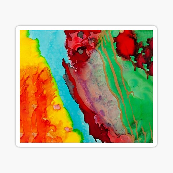 Color Explosion II Sticker