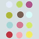 Paint Sample Dots by PiCADOOdesign