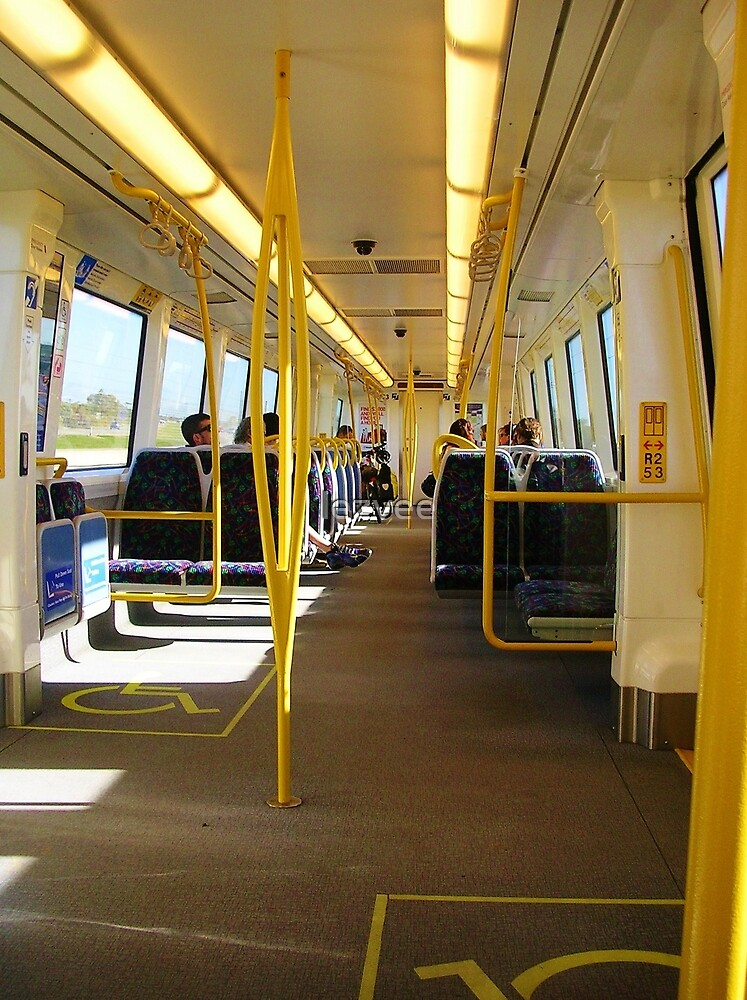 On Board the Perth Train by lezvee
