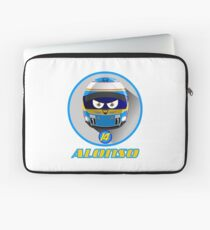 Fernando ALONSO_Helmet 2015 #14 Laptop Sleeve