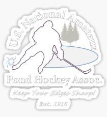 U.S. National Pond Hockey Assoc. T-Shirt Sticker