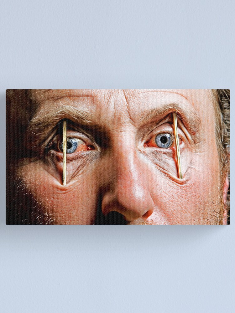 Alternate view of So So Tired!! Canvas Print