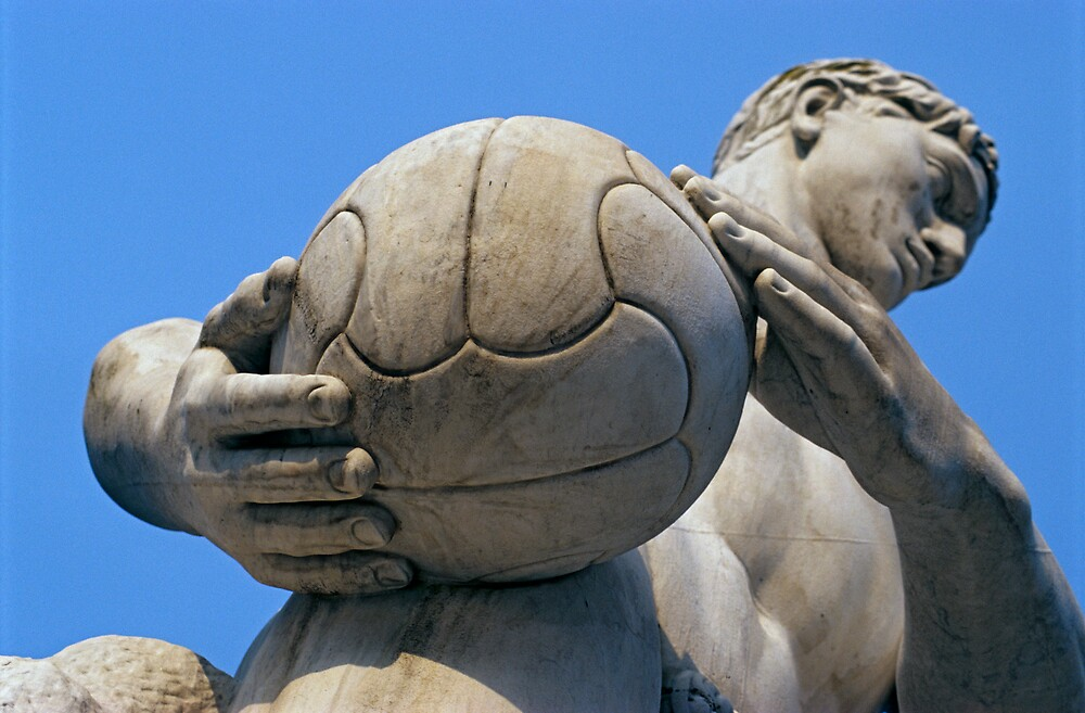 Quot Football Player Statue Foro Italico Italy Quot By Petr