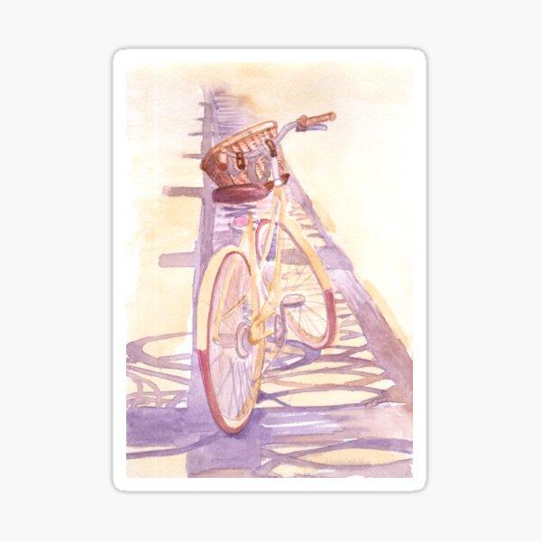 Summer bicycle Sticker