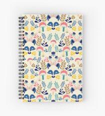 woodland fox Spiral Notebook