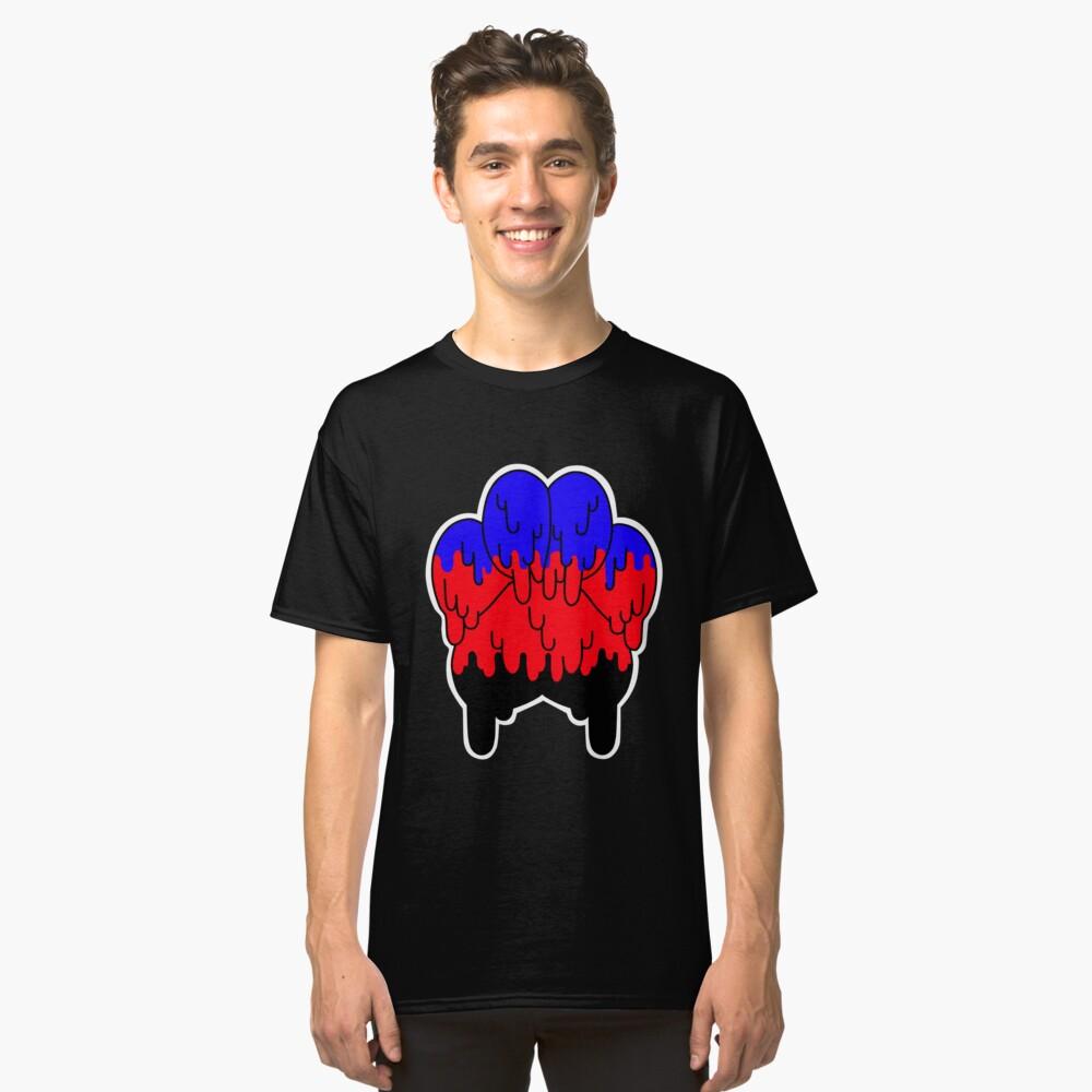 Polyamory Pfote Pride Classic T-Shirt