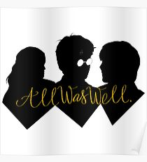 All was well Poster