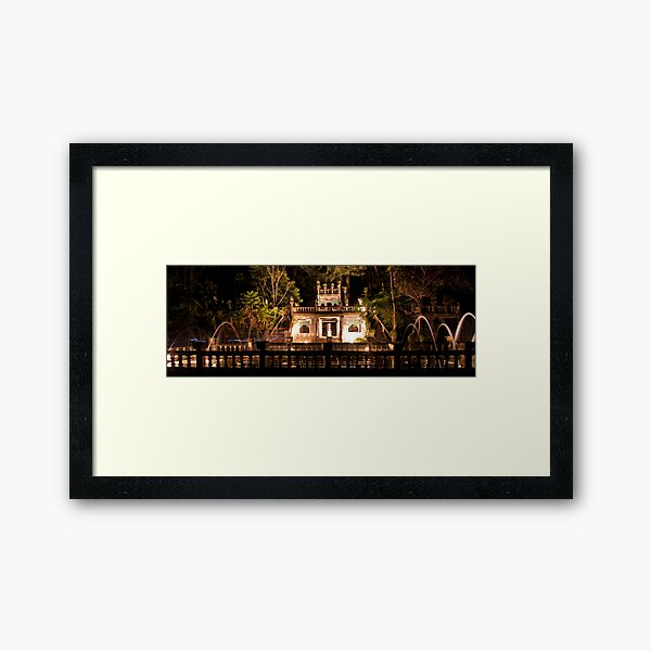 The Tea Rooms  Framed Art Print