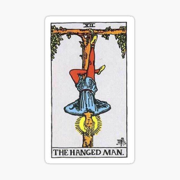 The Hanged Man Tarot Sticker