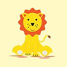 Cute baby lion by grafart