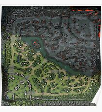 Dota 2 Patch 7.19 - Map / Minimap 9K Poster