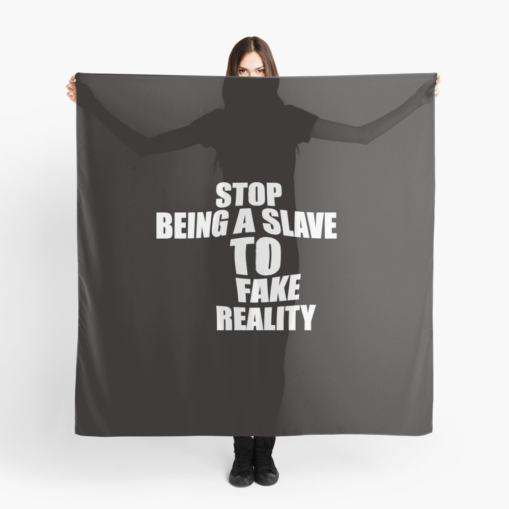stop being a slave Scarf