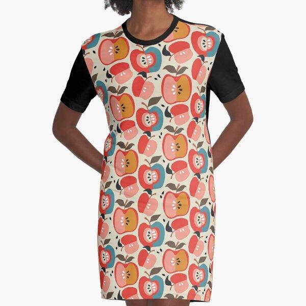 Good Apple Graphic T-Shirt Dress