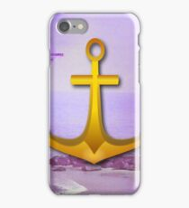 Purple Ocean & Sky Anchor iPhone Case/Skin