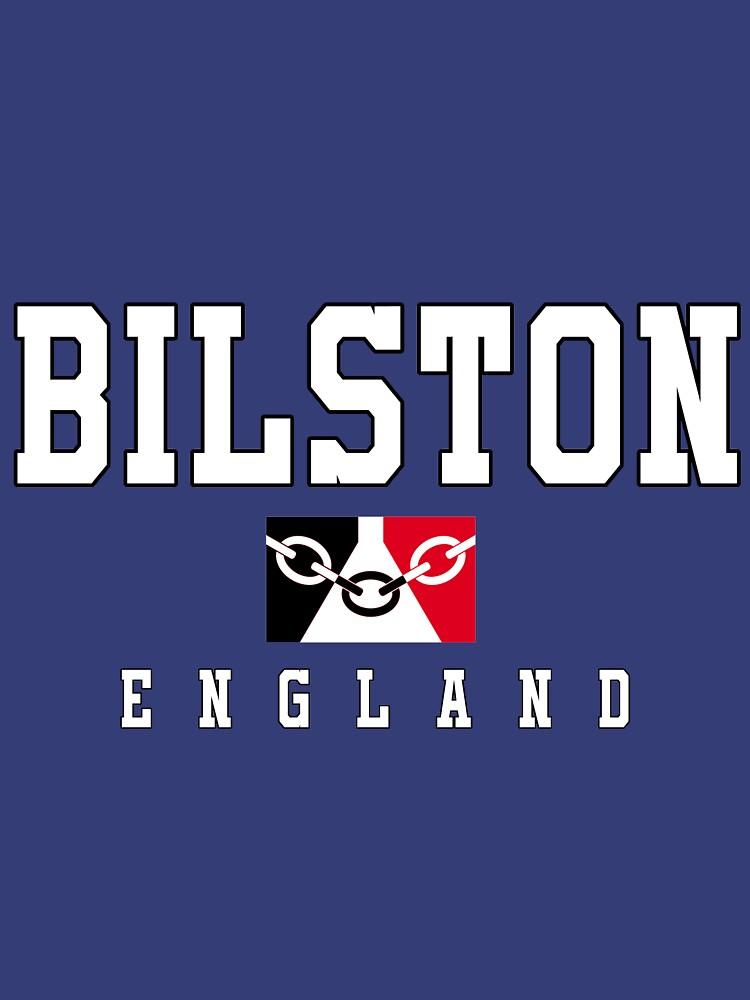 Bilston England - Black Country Flag by danbadgeruk