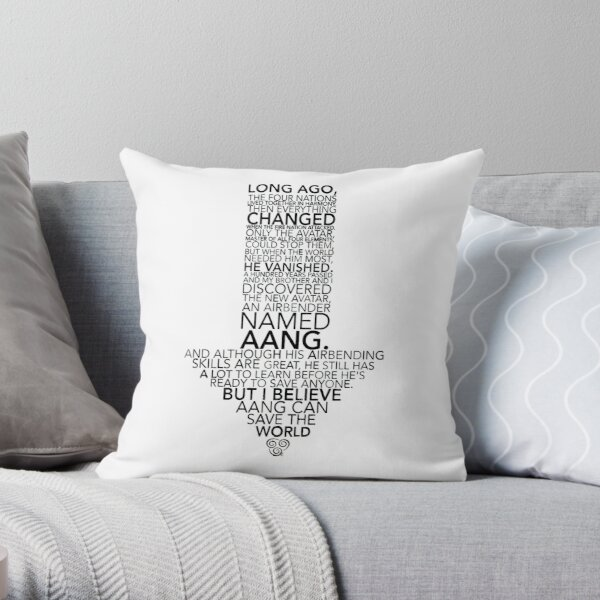 Avatar Monologue  Throw Pillow