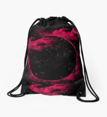 Black Hole Drawstring Bag