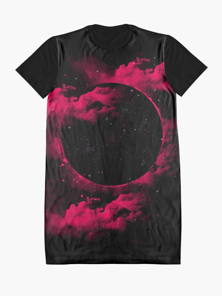 Alternate view of Black Hole Graphic T-Shirt Dress