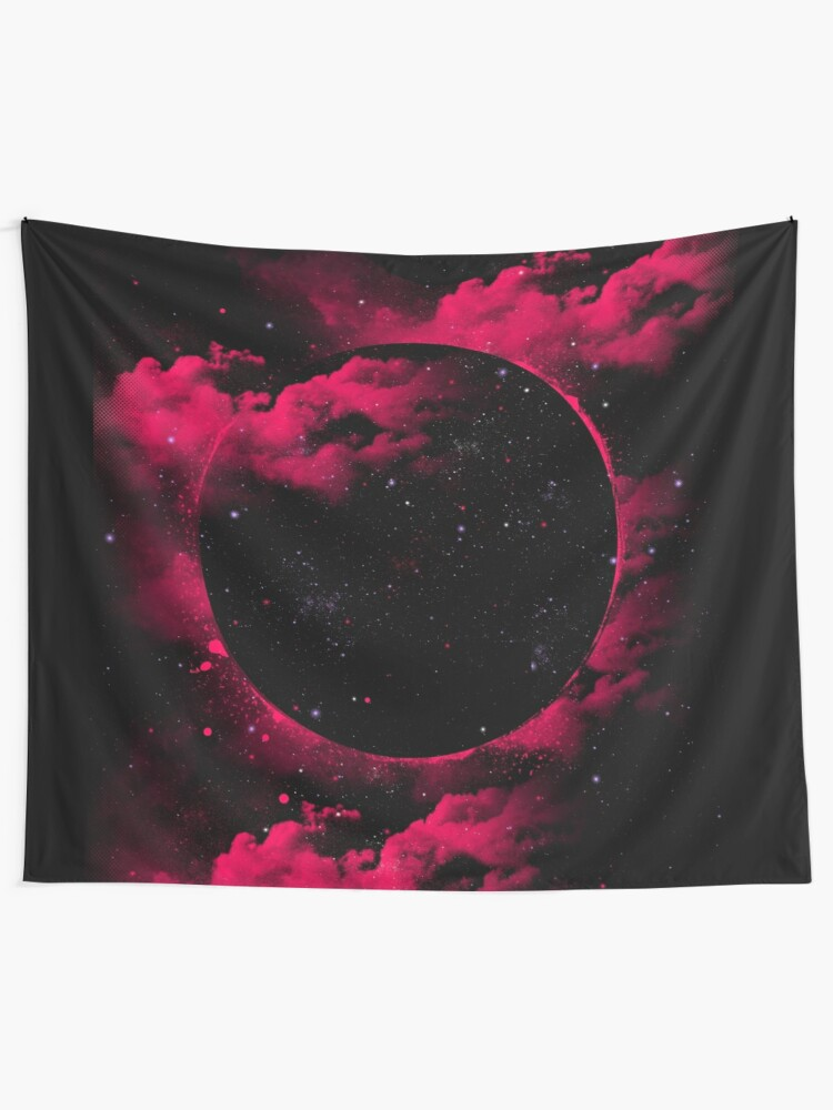 Alternate view of Black Hole Tapestry