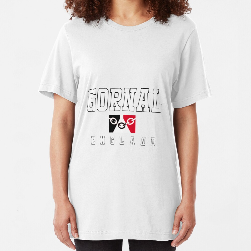 Gornal - Black Country Flag Slim Fit T-Shirt