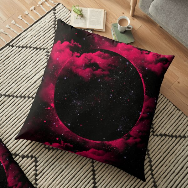 Black Hole Floor Pillow