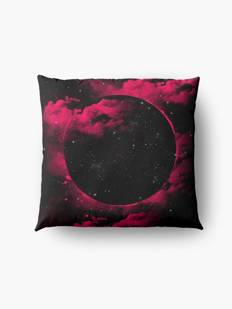 Alternate view of Black Hole Floor Pillow