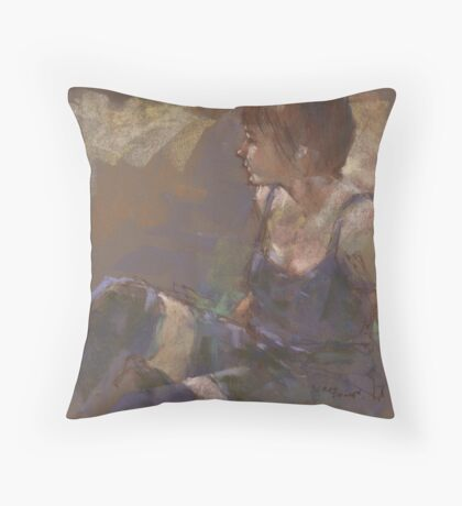 A second session Throw Pillow