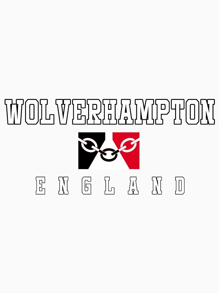 Wolverhampton - Black Country Flag by danbadgeruk
