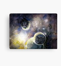 Out There Watercolor Canvas Print