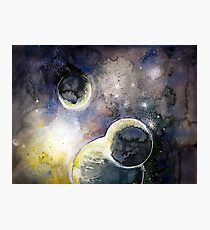 Out There Watercolor Photographic Print