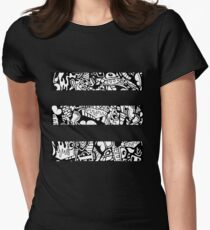 Graphic design Women's Fitted T-Shirt