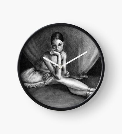 Sad Ballerina Clock