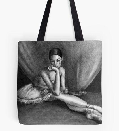 Sad Ballerina Tote Bag