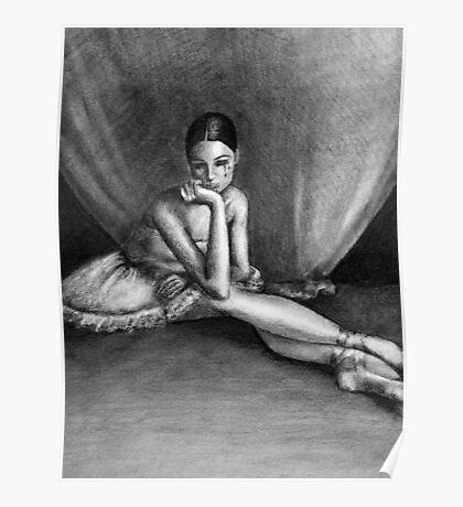 Sad Ballerina Poster