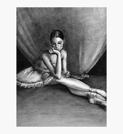 Sad Ballerina Photographic Print