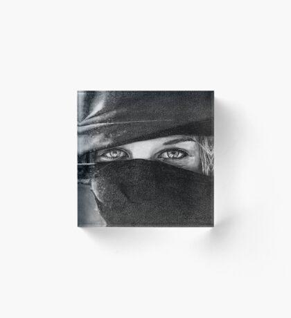 Your Eyes Acrylic Block