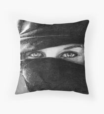 Your Eyes Throw Pillow