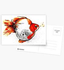 Bubble Fish Postcards