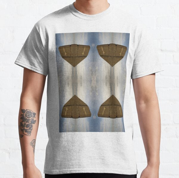 Fantastic reality: geese are flying hourglass #time #glass #clock #sand #isolated #heart #white #love #timer #concept #abstract #symbol #black #gold #object #illustration #deadline #shape #design Classic T-Shirt