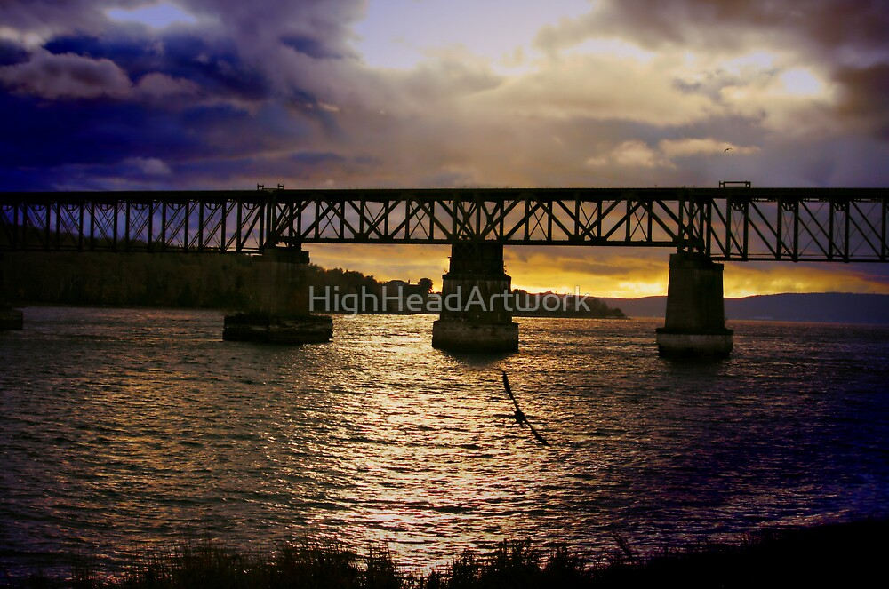 Sunset in Clementsport by HighHeadArtwork