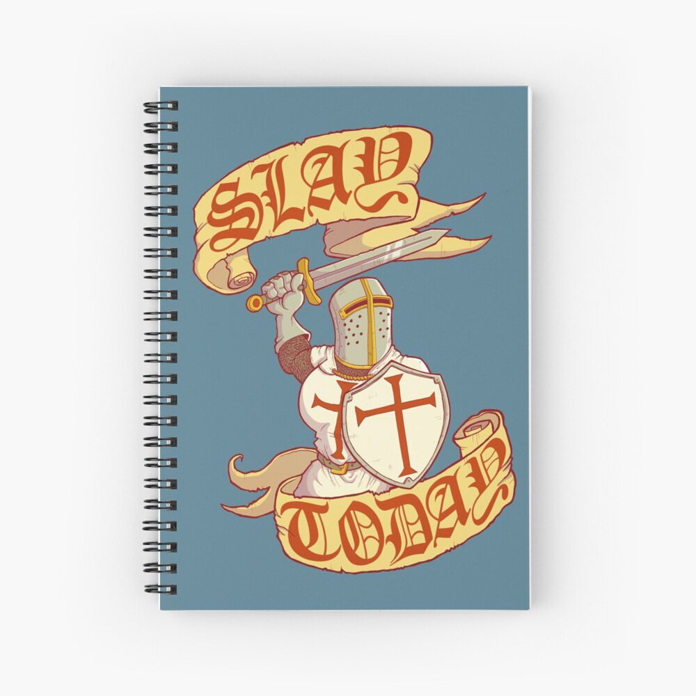 Slay Today Spiral Notebook